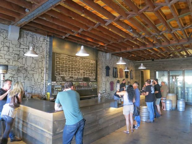 Culture Brewing Angle View of Bar