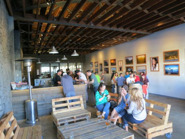 Culture Brewing Table and Tasting Room