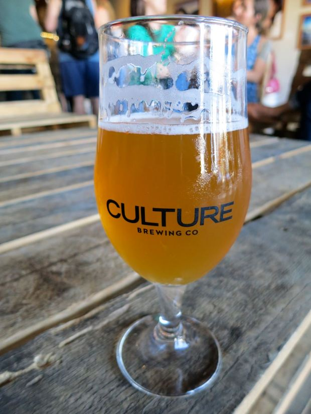 Culture Brewing Co. Beer Glass