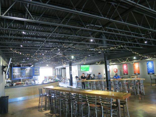 Mike Hess Brewing Back Left View
