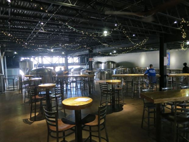 Mike Hess Brewing Front Right View