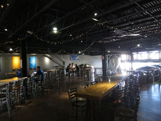 Mike Hess Brewing Front Left View