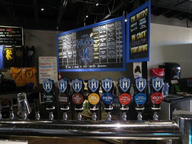 Mike Hess Brewing Beer Taps