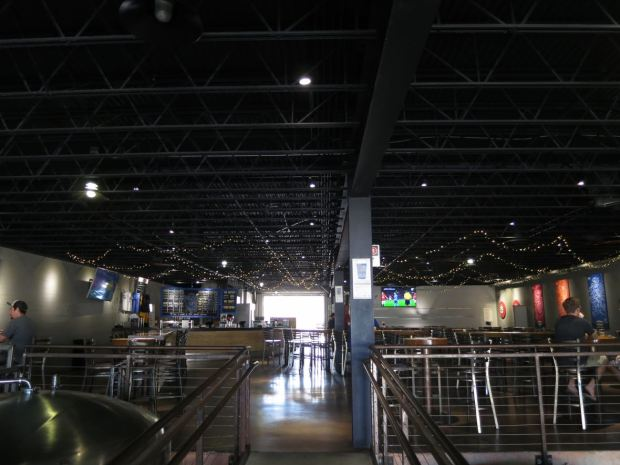 Mike Hess Brewing Catwalk View
