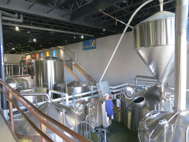 Mike Hess Brewing Fermenting Tanks 2