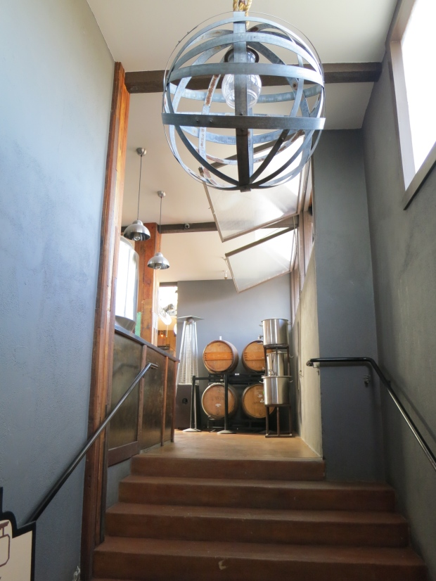 Thorn St Brewery Staircase