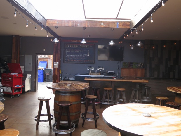 Thorn St Brewery Upstairs Table & Bar