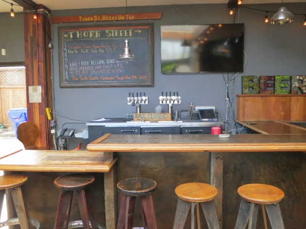 Thorn St Brewery Bartop and Taps