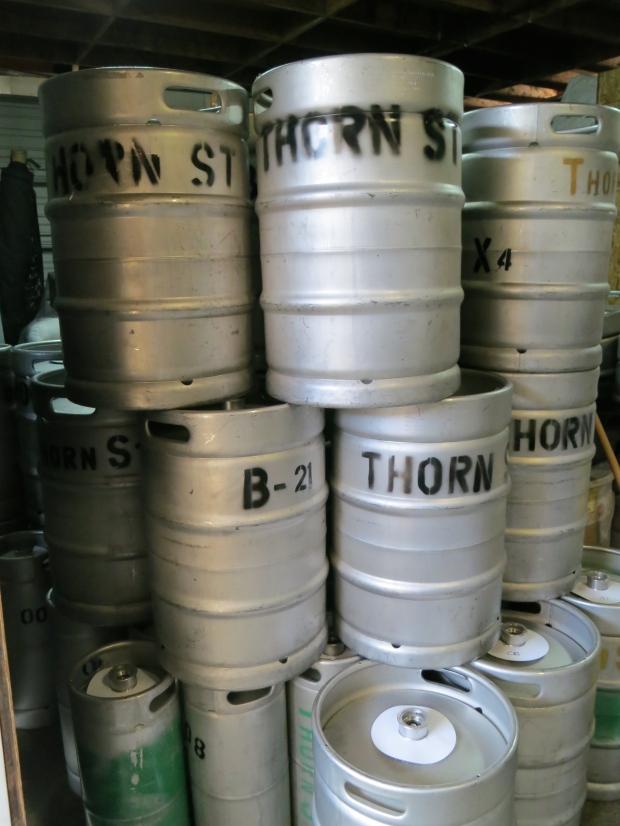 Thorn St Brewery Kegs