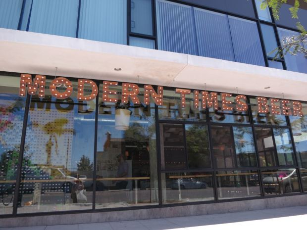 Front of Modern Times Flavordome