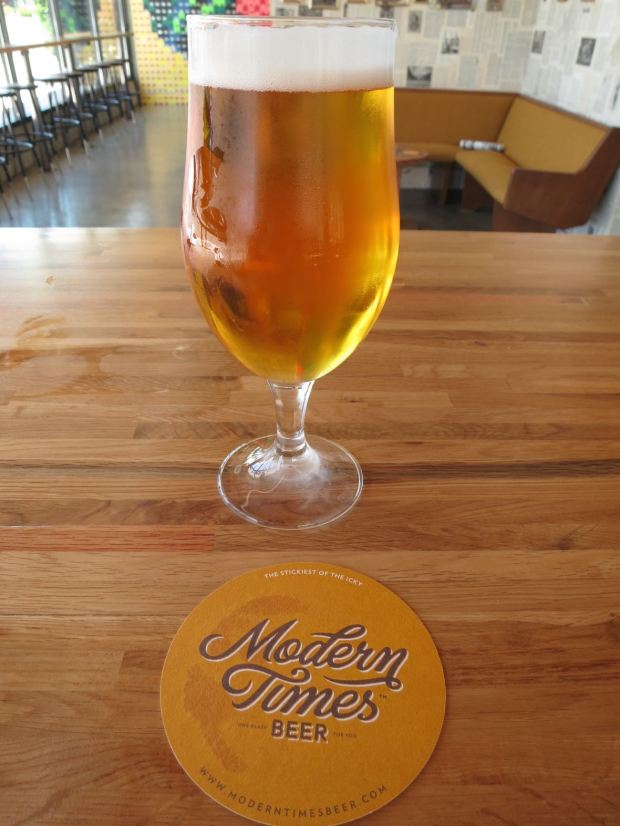 Modern Times Flavordome Glass and Coaster