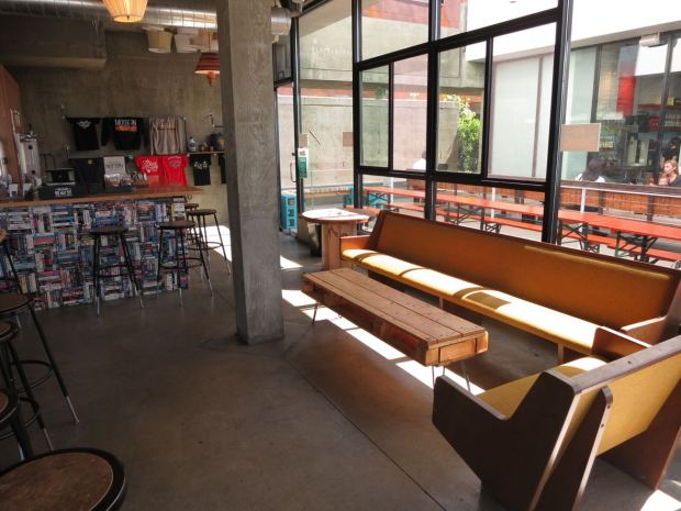 Modern Times Flavordome Seating