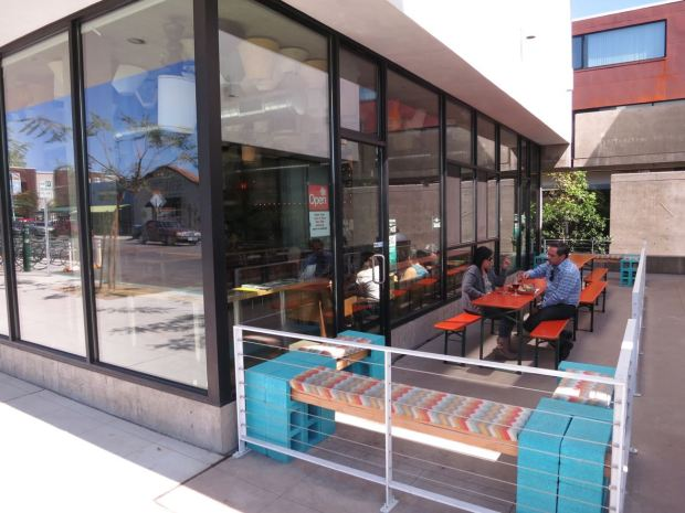Modern Times Flavordome Outdoor Seating