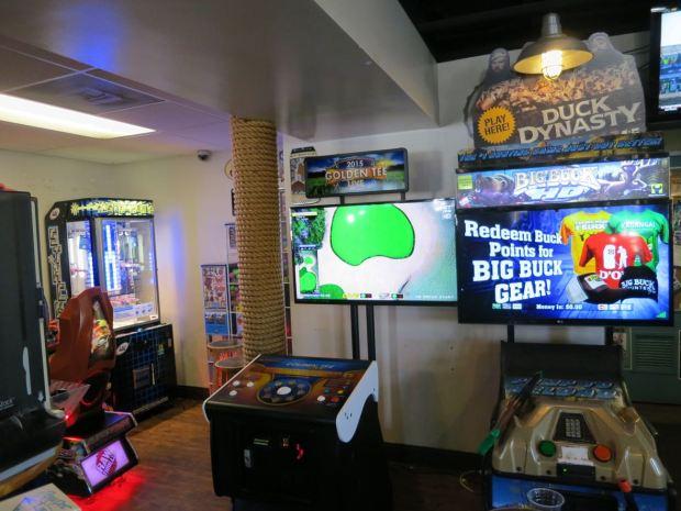 Pizza Port Arcade Games