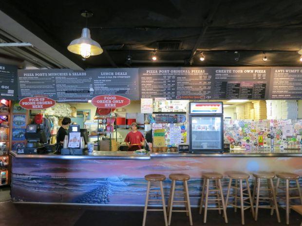 Pizza Port Menu and Register