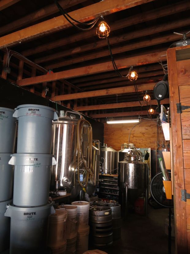 Poor House Brew Fermenting Tanks
