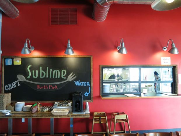 Rip Current Brewing Sublime Food Window