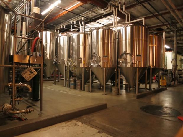 Societe Brewing Company Fermenting Tanks