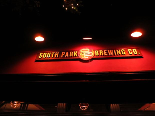 South Park Brewing Sign