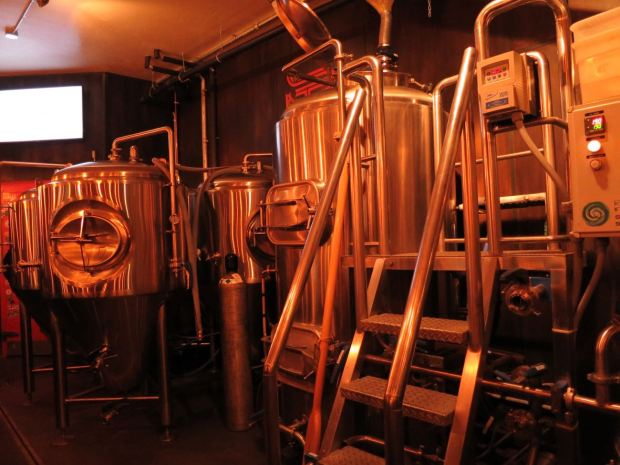 South Park Brewing Fermenting Tanks