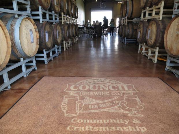 Council Brewing Company Entrance Mat