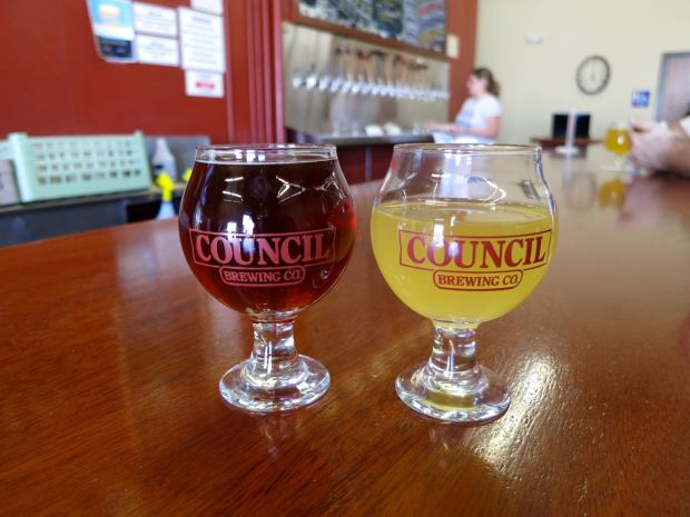 Council Brewing Company Taster Glasses