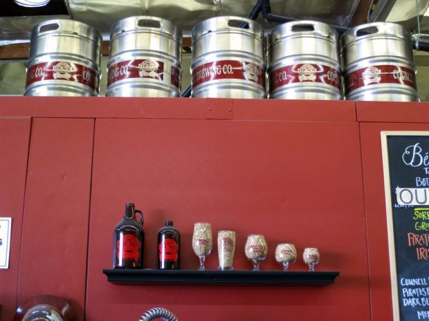 Council Brewing Company Growlers, Glasses, & Kegs