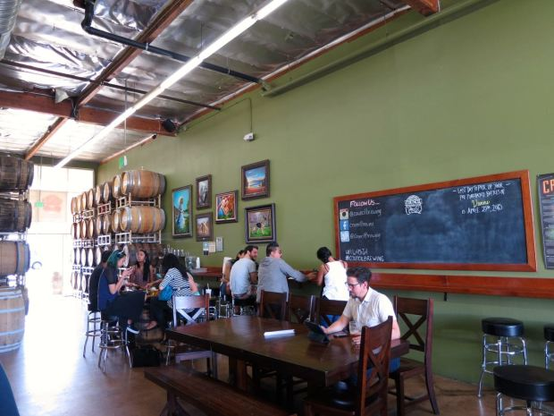 Council Brewing Company Seating