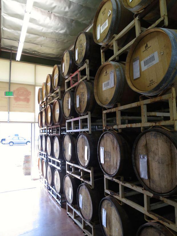 Council Brewing Company Barrels