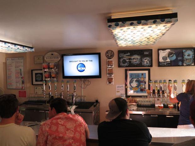 El Segundo Brewery Bar Top