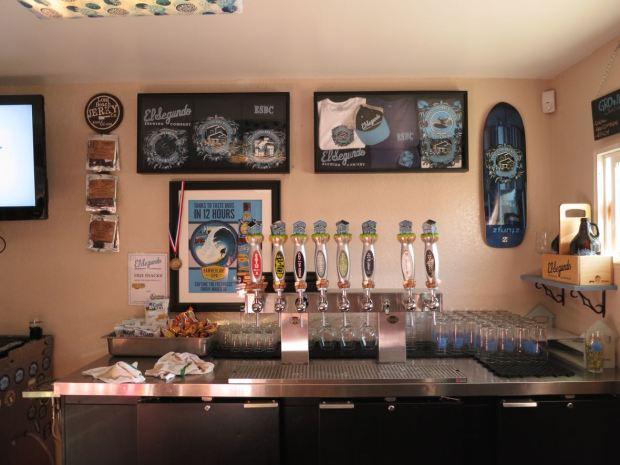 El Segundo Brewery Taps