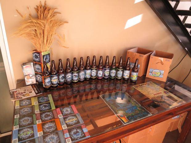 El Segundo Brewery Beer Table