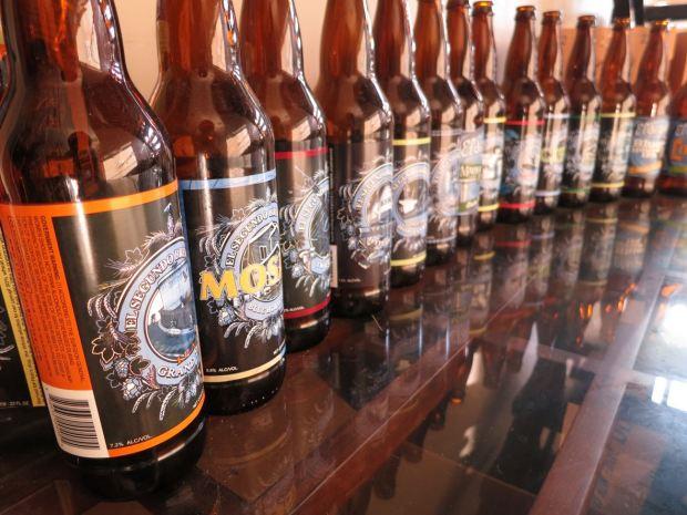 El Segundo Brewery Beer Bottles