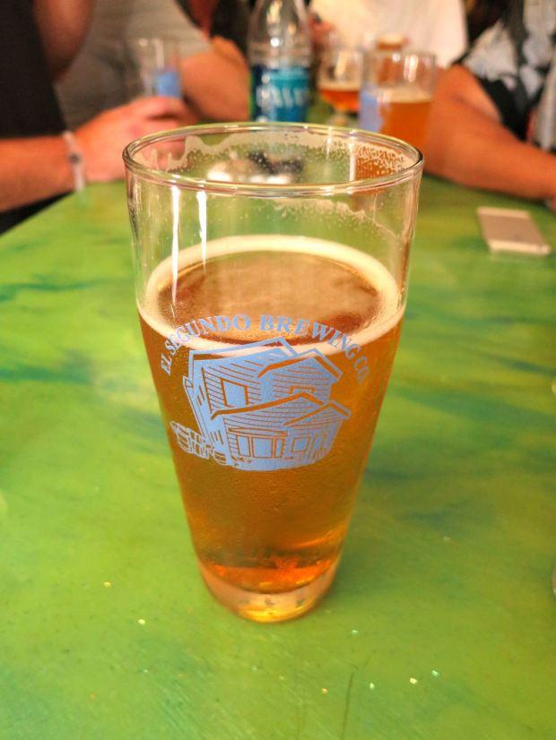 El Segundo Brewery Glass