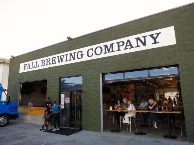 Front of Fall Brewing Company