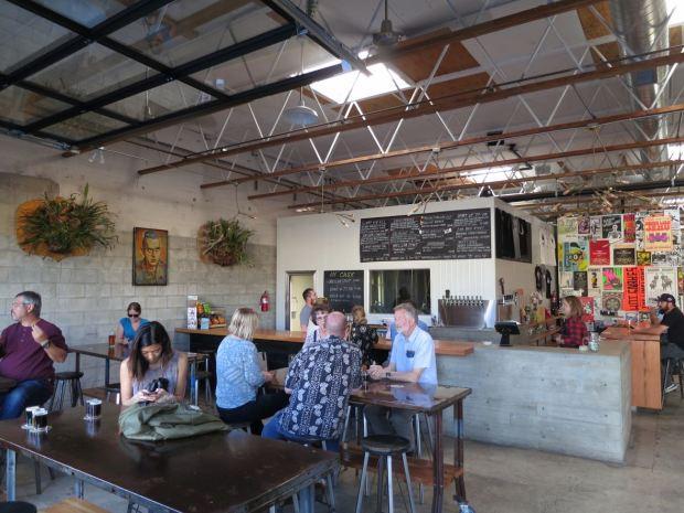 Fall Brewing Company Seating and Bar