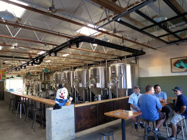 Fall Brewing Company Seating and Tanks