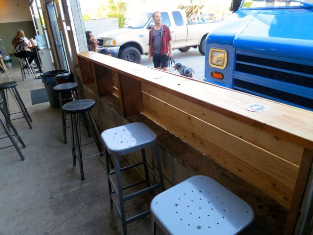 Fall Brewing Company Open Window Seating