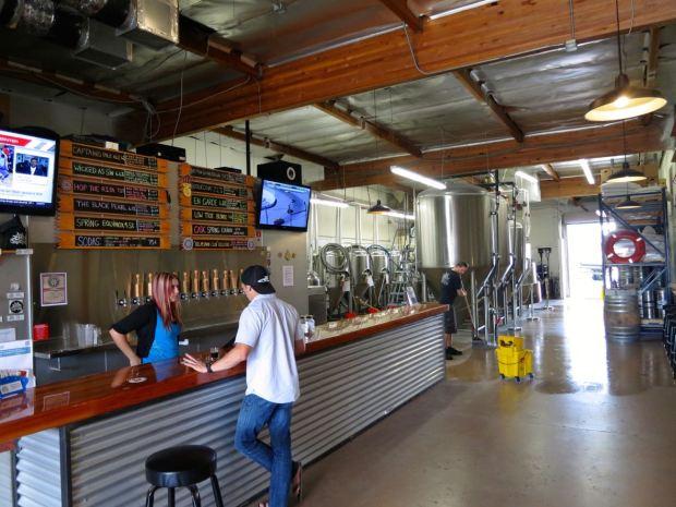Helms Brewing Company Tasting Room