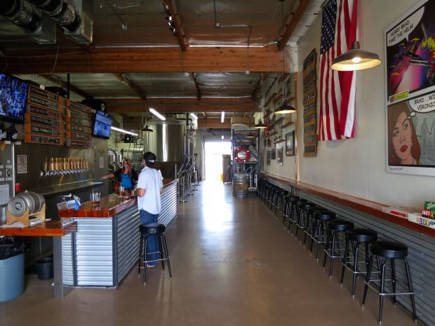 Helms Brewing Company View From Back