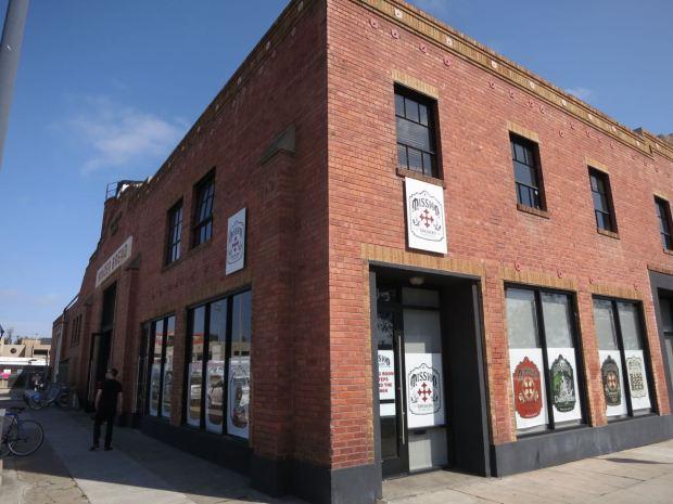 Mission Brewery Corner