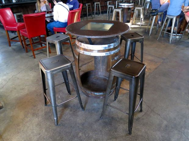 Mission Brewery Table and Stool