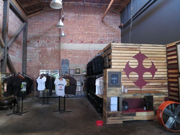 Mission Brewery Gift Shop