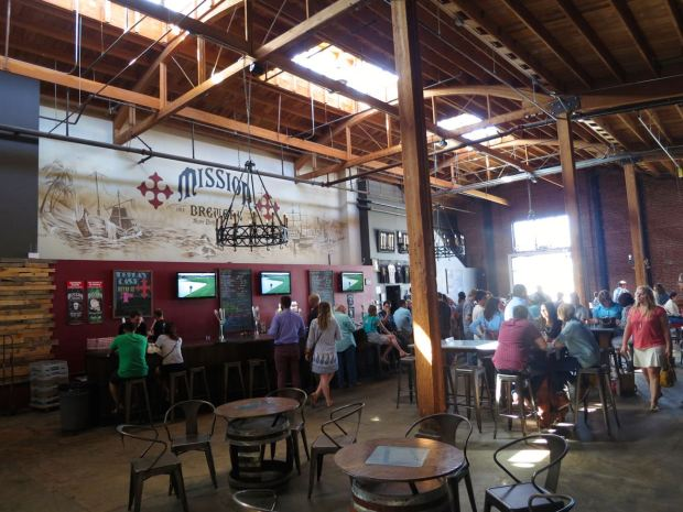 Mission Brewery View From Back Right