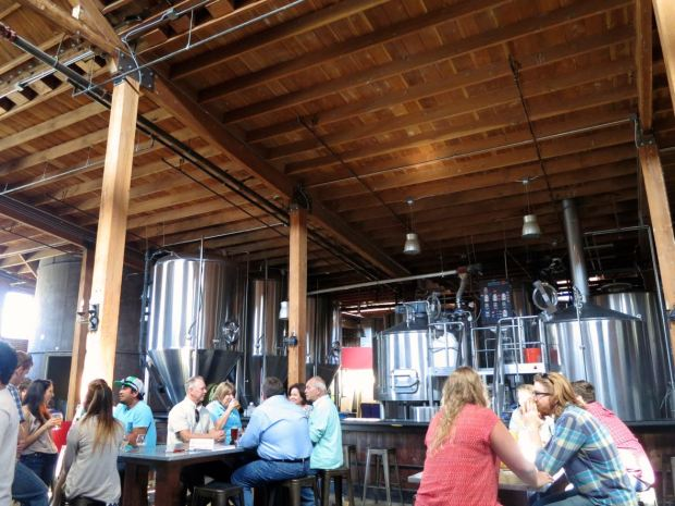 Mission Brewery Seating Area