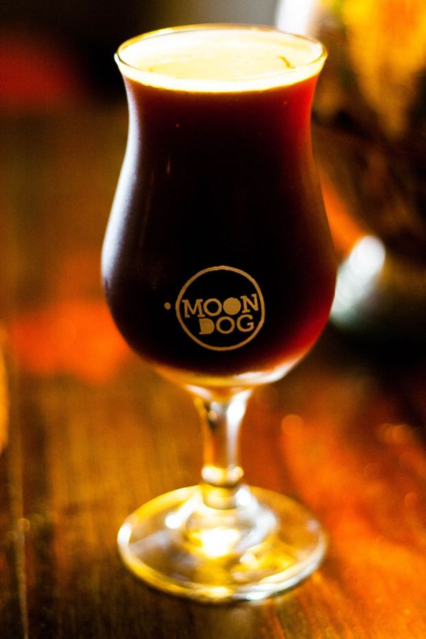 Moon Dog Brewing Tulip Glass