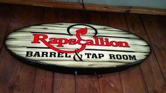 Rapscallion Brewery Sign