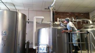 Rapscallion Brewery Fermenting Tanks