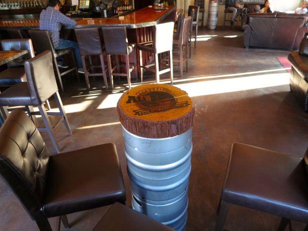 Acoustic Ales Stumped Keg Table