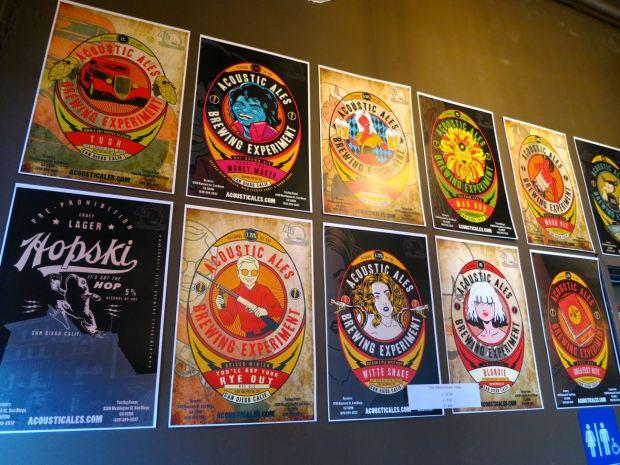 Acoustic Ales Beer Labels